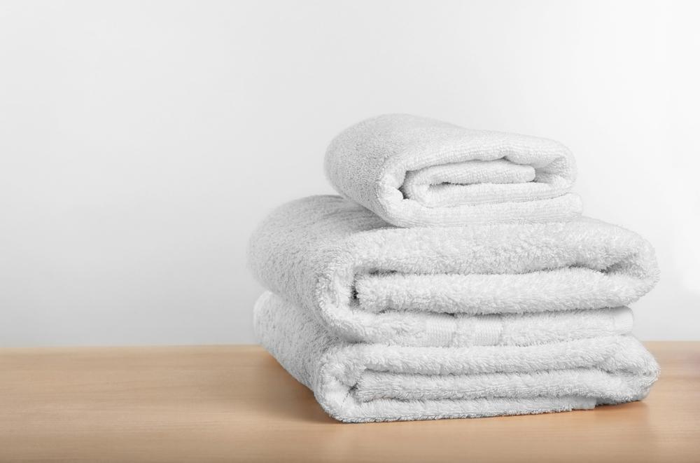 使用済のバスタオルの処理